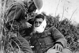 Over 16 million were killed in World War I, with an additional 20 million wounded.