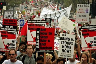 300,000 march in Washington, D.C. on Sept. 24, 2005