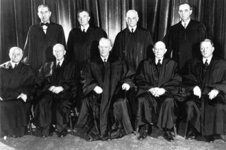 The Supreme Court in 1953. Source: Public Domain.