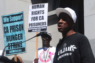 Protesters support California prisoner hunger strike