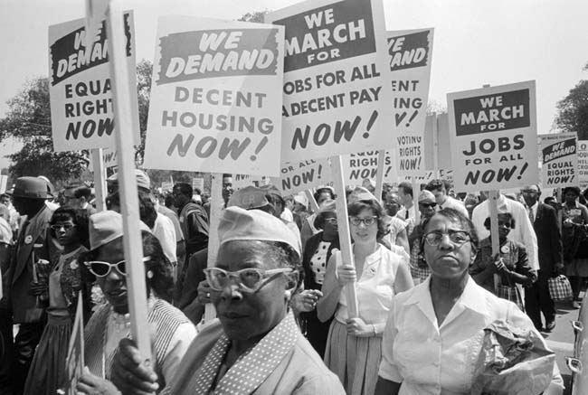 "The civil rights movement wasn't just about ""integration"" in the abstract. It had economic demands."