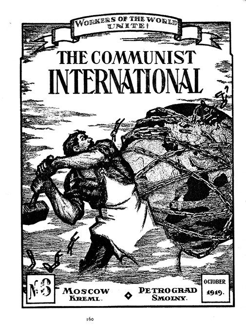 The first journal of the Communist International, 1919