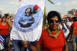 May Day in Havana, Cuba. Photo: Bill Hackwell