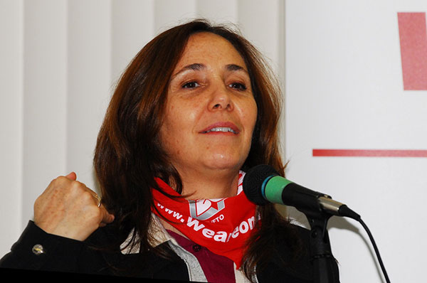 Mariela Castro Espín, leader of the Cuban institute CENESEX and daughter of revolutionary leaders Raul Castro and Vilma Espín