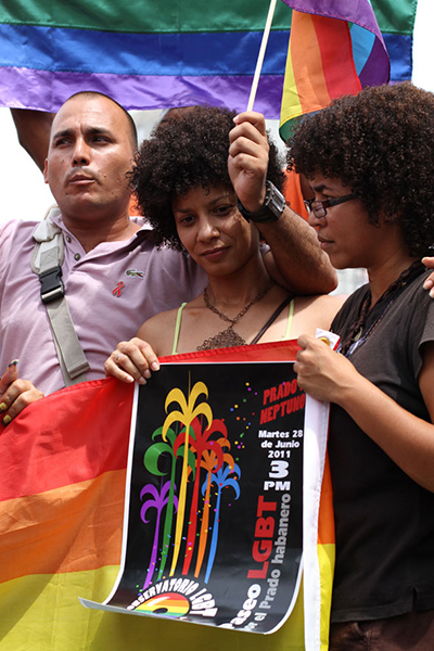 Cuba has launched national initiatives against homophobia.