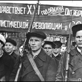 The Russian Revolution united peasants, workers, soldiers and oppressed nationalities from every corner of the Czar's empire.