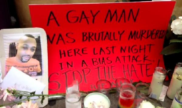 Vigil for Mark Carson
