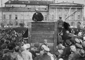 The 1917 victory of Lenin and the Bolshevik Party in Russia tilted the balance against anarchism.
