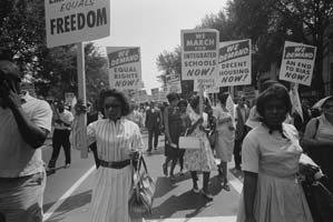 Civil rights march, Washington, D.C., August 28, 1963 Photo: Warren K. Leffler