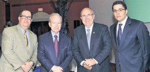Rudolph Giuliani Gives Lecture in the Dominican Republic