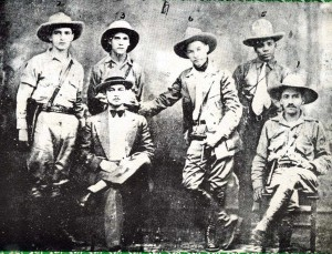 Augusto Sandino, Farbundo Marti and their staff