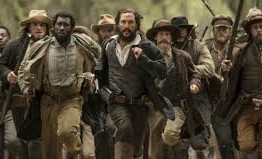 "Image of Newton Knight and fellow guerrillas from the movie ""Free State of Jones"""
