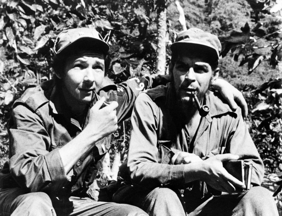 Raul Castro and Che Guevara