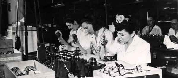 The shortage of male workers during World War II led to women performing work traditionally reserved for men, shattering the myth that women were any less qualified than their male counterparts.