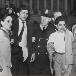 Being taken into custody, March 1, 1954