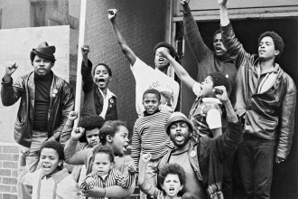 Black Panther Party members and supporters