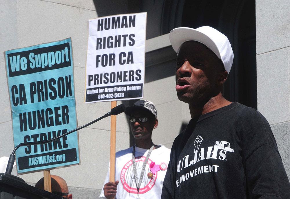Protesters support California prisoner hunger strike