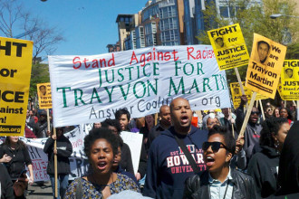 The murder of Trayvon Martin showed clearly that the country is not 'post-racial.'