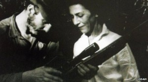 Celia Sánchez with Fidel Castro