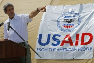 The State Department oversees USAID counterrevolutionary programs.
