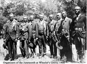Juneteenth officers in Texas.