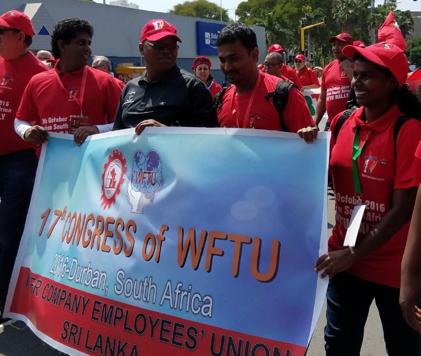 Visions Of Community 2015 Federation >> The World Federation Of Trade Unions 17th Congress A Report On The