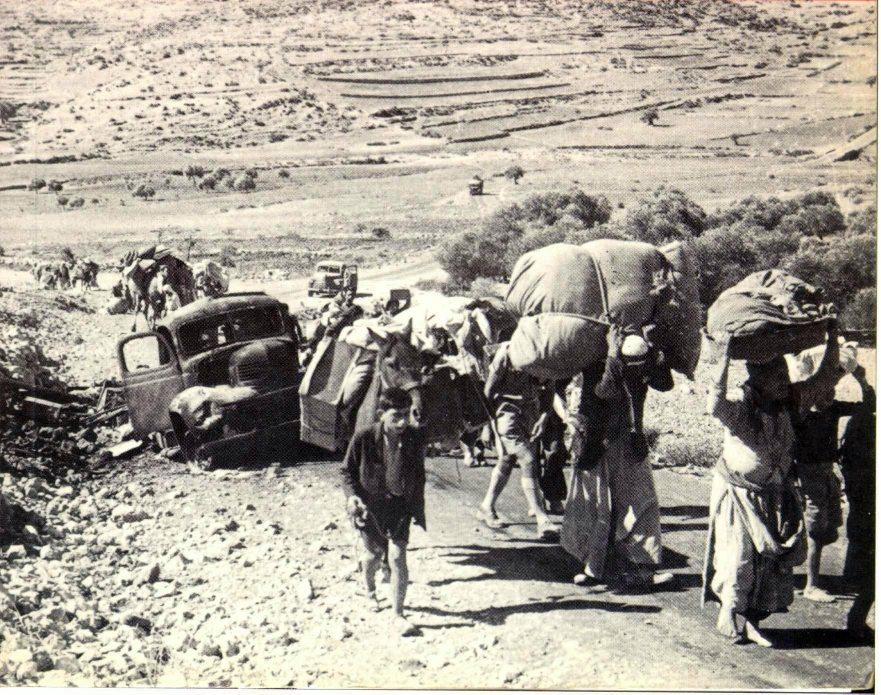 Palestinian refugees, 1948