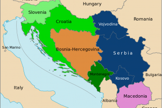 The former Socialist Federal Republic of Yugoslavia