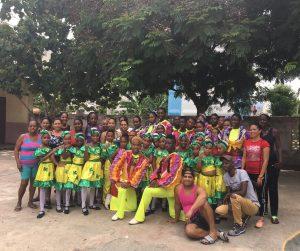 Sanas Mente Art School in Santiago de Cuba, July 2018. Photo: Carolyn Gomez.