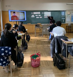A classroom at Tokyo First Korean High School. Photo: Author.